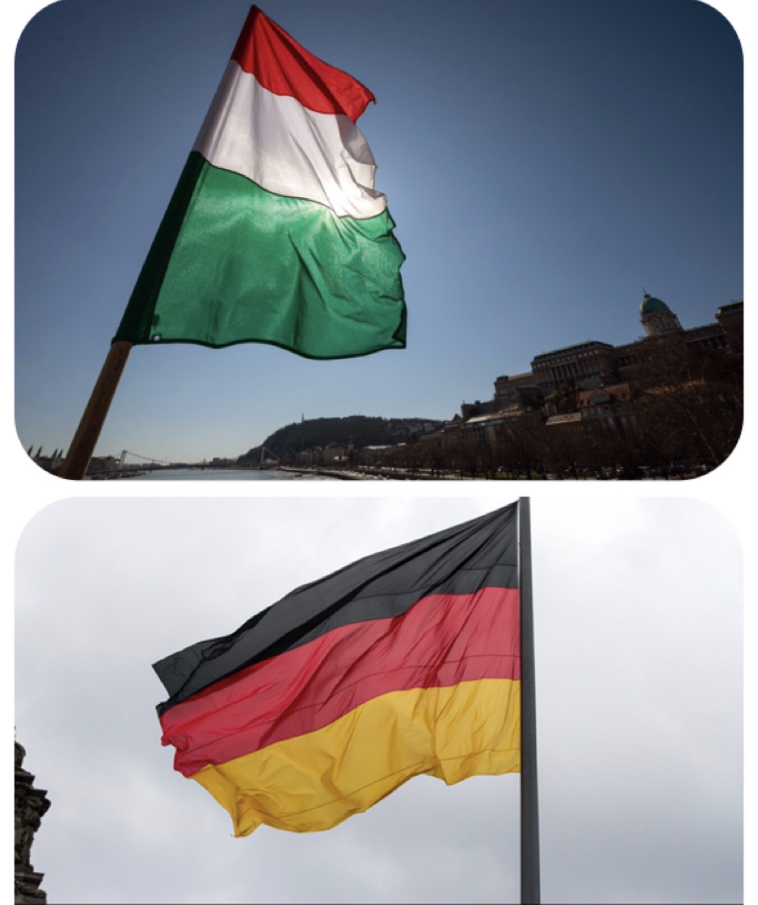 STRONG TRUST BETWEEN GERMANS AND HUNGARIANS